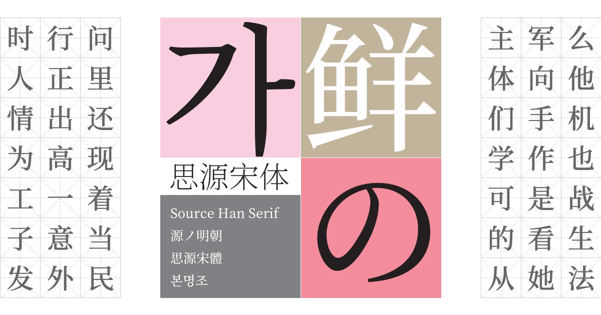 Source Han Serif
